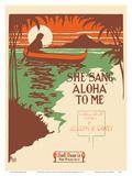 She Sang Aloha To Me - A Ballad of Hawaii by Joseph B Carey