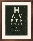 Eye Chart IV