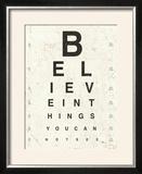 Eye Chart I