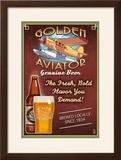 Aviator Beer - Vintage Sign