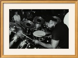 Billy Cobham Conducting a Drum Clinic at the Horseshoe Hotel  London  1980