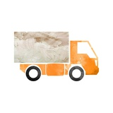 Truck With Paint Texture - Part III