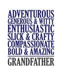 Adjectives for Grandpa