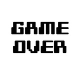Game Over - White