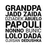 Grandpa Various Languages