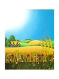 Sussex Wheatfields  1995