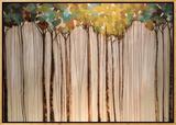 Light in the Leaves Tableau sur toile encadré par Kari Taylor