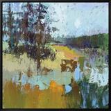 Smell Of Pines Tableau sur toile encadré par Jane Schmidt