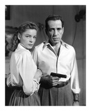 Lauren Bacall and Humphrey Bogart in 'Key Largo' 1948