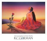 Aube chez les Navajos Reproduction d'art par R. C. Gorman