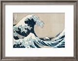 "The Great Wave of Kanagawa  from the Series ""36 Views of Mt Fuji"" (""Fugaku Sanjuokkei"")"