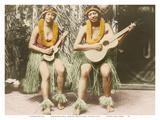 Hawaiian Hula Girls - Honolulu Hawaii