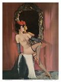 Burlesque Beauty - Stocking Clad Showgirl