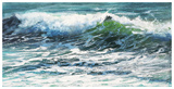 Shoreline Study 07616 Reproduction d'art par Carole Malcolm