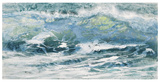 Shoreline study 10116 Reproduction d'art par Carole Malcolm