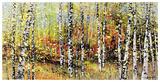 Treescape 21516 Reproduction d'art par Carole Malcolm