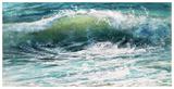 Shoreline study 19016 Reproduction d'art par Carole Malcolm