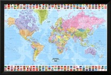 World Map - Political 2001