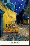 Cafe Terrace  Place du Forum  Arles  1888