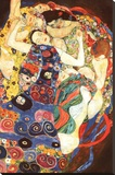 Gustav Klimt Virgin Art Print Poster