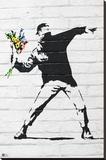 Banksy- Rage  Flower Thrower