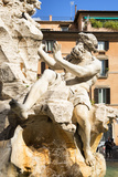 Dolce Vita Rome Collection - The Four Rivers Fountain in Piazza Navona