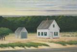 October on Cape Cod, 1946 Giclée par Edward Hopper