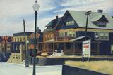 East Wind Over Weehawken Giclée par Edward Hopper