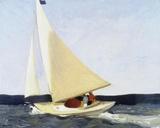 Sailing, 1911 Giclée par Edward Hopper