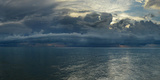 Dramatic Sky Over The Gulf Of Mexico In Naples  Florida