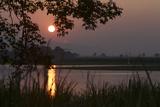 The Brahmaputra River In Kaziranga National Park