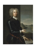 Portrait of Major General Paul Mascarene  1729
