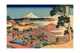 The Tea Plantation of Katakura in the Suruga Province  c1830