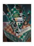 Still Life with Checked Tablecloth  1915