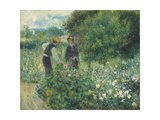 Picking Flowers  1875