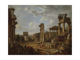 A Capriccio of the Roman Forum  1741