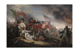 The Battle of Bunker's Hill on June 17th 1775