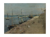 The Harbour at Cherbourg  1871