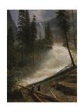 Nevada Falls  Yosemite  1872 or 1873