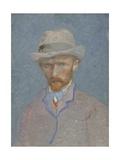 Self-Portrait with Gray Felt Hat  1887