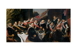 A Banquet of the Officers of the St George Militia Company  1616