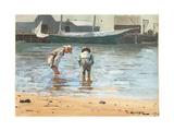 Boys Wading  1873