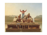 The Jolly Flatboatmen  1846