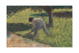 Peasant with a Hoe  c1882