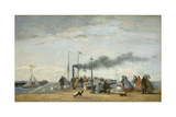 Jetty and Wharf at Trouville  1863