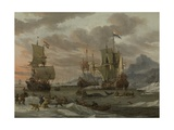 Whaling Grounds in the Arctic Ocean  1665
