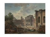Demolition of the Chateau of Meudon  1806