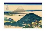 Cushion pine at Aoyama  Edo  c1830