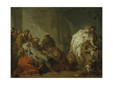 Death of Meleager  c1727