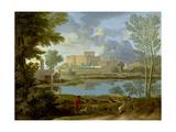 Landscape with a Calm  1650-1